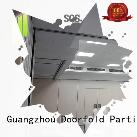 retractable soundproof partition wall proof for conference room