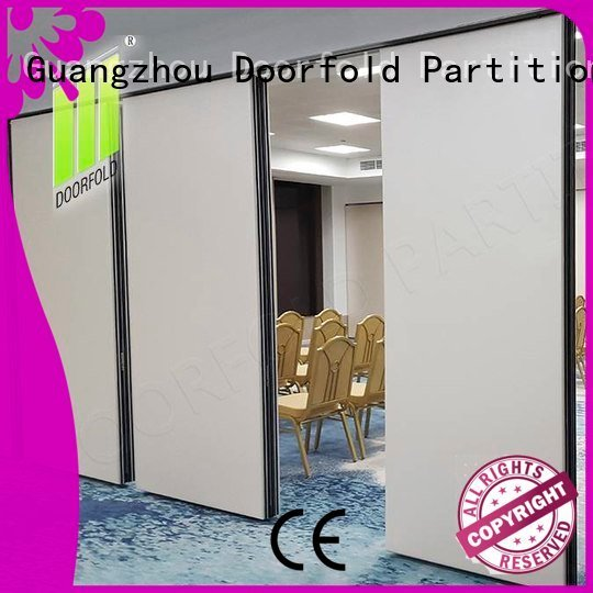 partition conference wall Doorfold movable partition operable wall