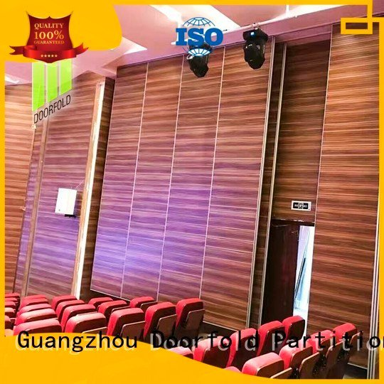 museum soundproof theater sliding folding partitions movable walls Doorfold movable partition