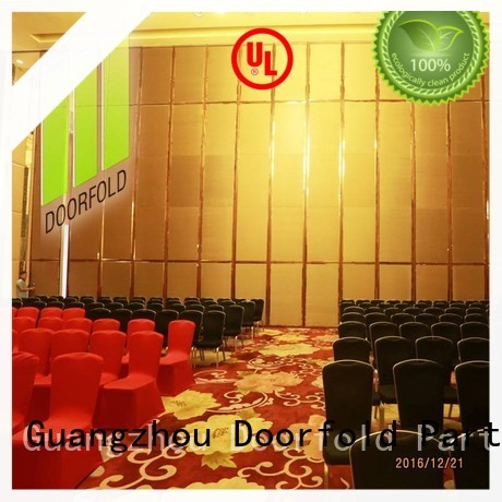 Doorfold operable Hotel ballroom Movable Walls decoration
