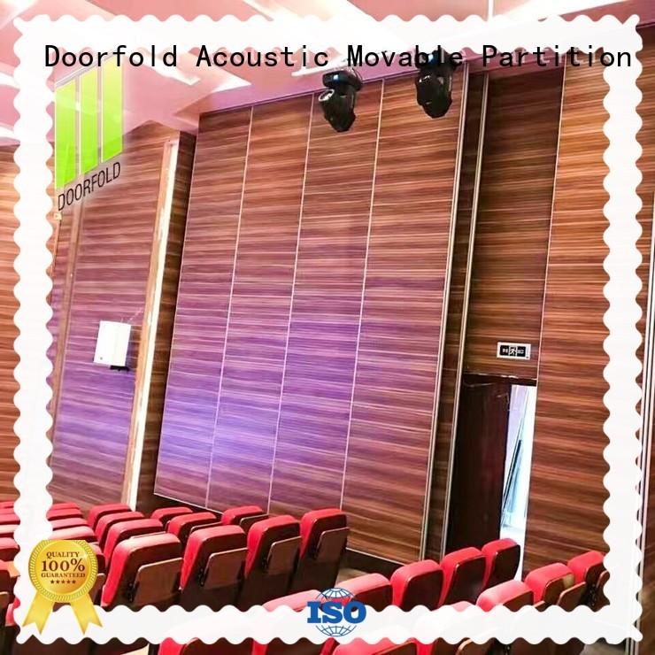 Doorfold movable movable walls free delivery for theater