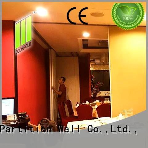 Doorfold movable partition Brand acoustic partition commercial partition walls divider wall