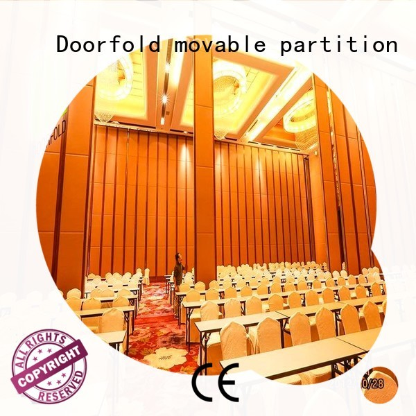 Doorfold movable partition acoustic conference room partitions top brand for exhibition