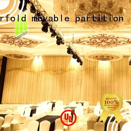 movable partition wall singapore golden Doorfold movable partition Brand acoustic movable partitions