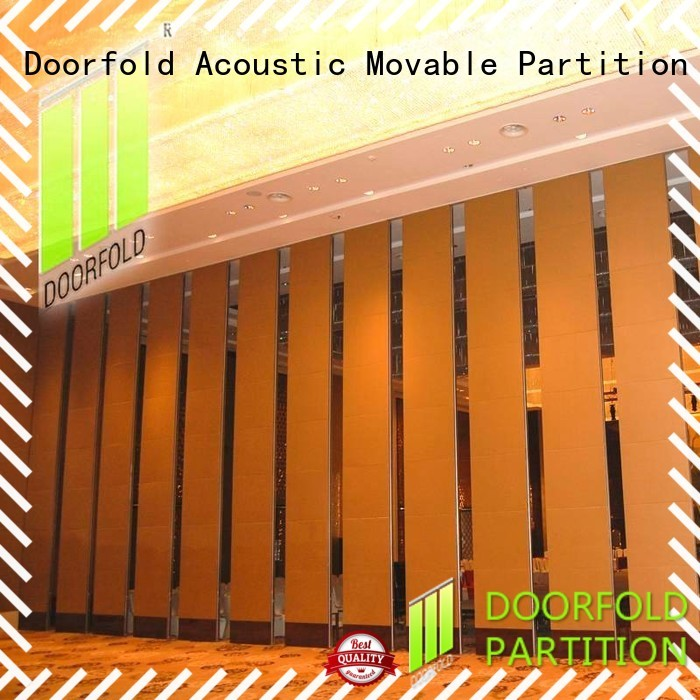 Doorfold simple-structure conference room partition walls easy-installation conference