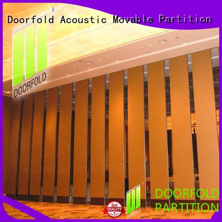 Doorfold movable partition Brand lan saudi hotel acoustic movable partitions