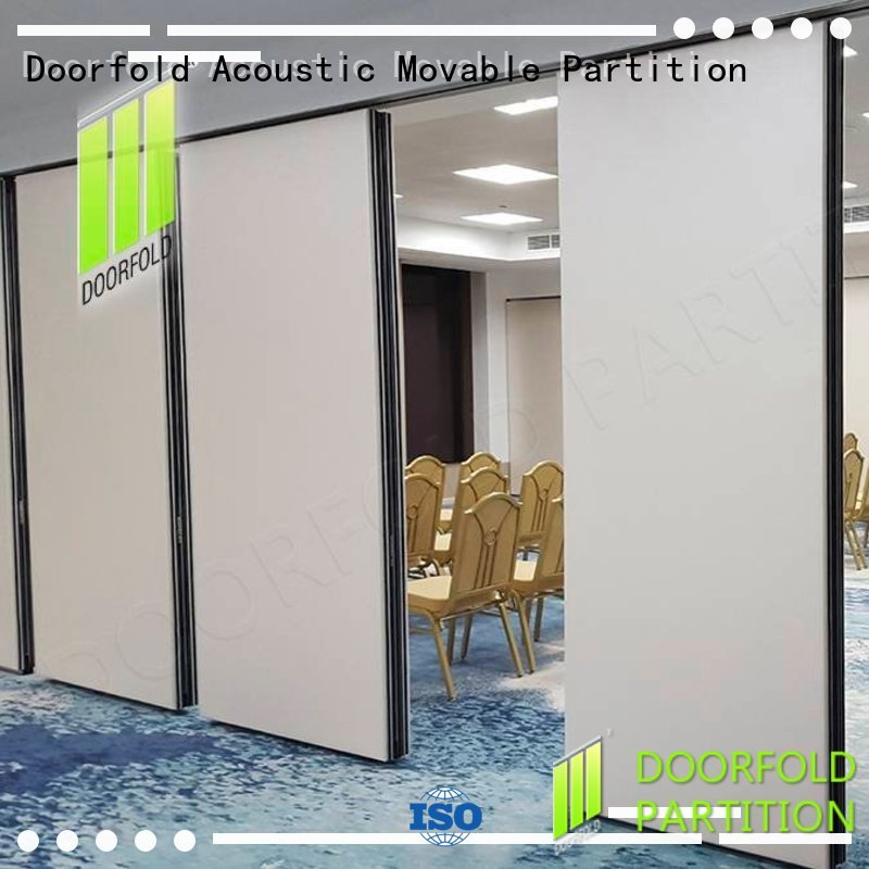 Doorfold portable office partitions decorative for meeting room
