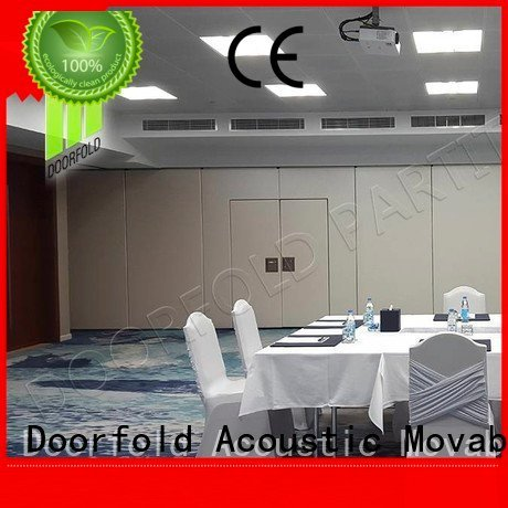Doorfold movable partition Brand acoustic operable conference sliding folding partition