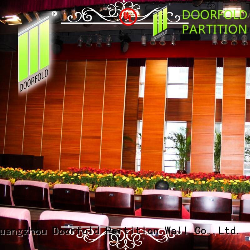 Doorfold sliding room partitions latest design
