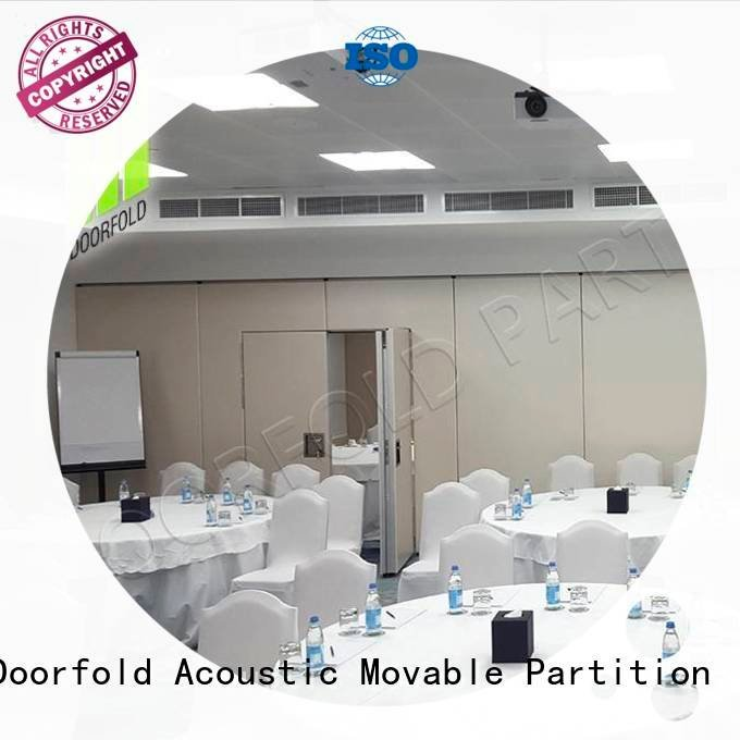soundproof folding walls soundproof room OEM soundproof office partitions Doorfold movable partition