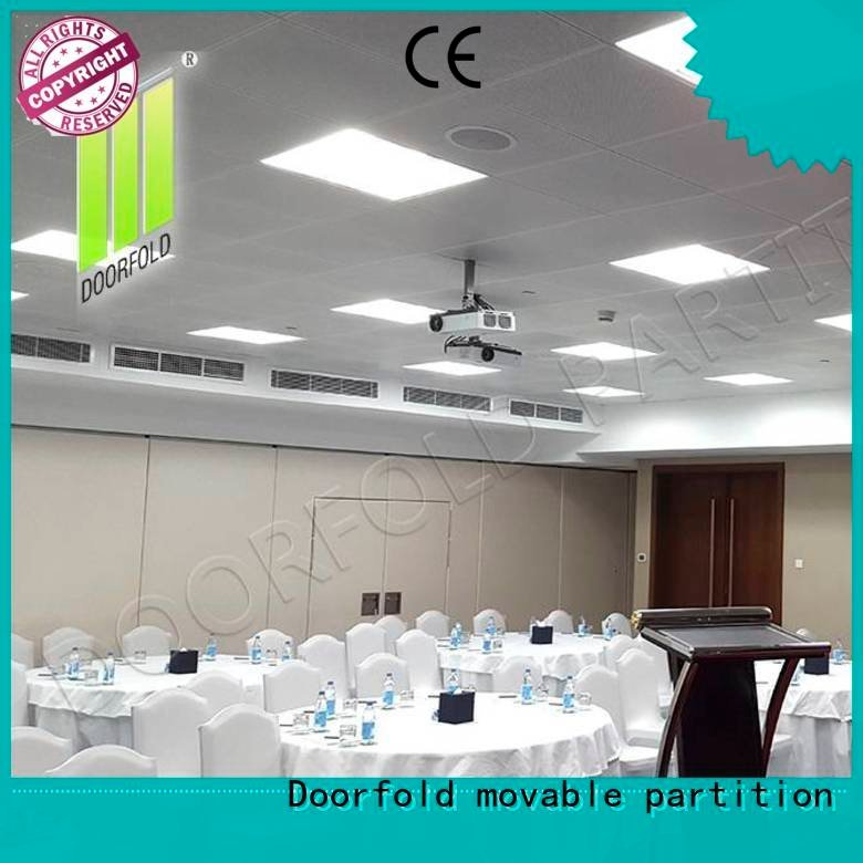Doorfold movable partition Brand operable commercial partition walls exhibition divider