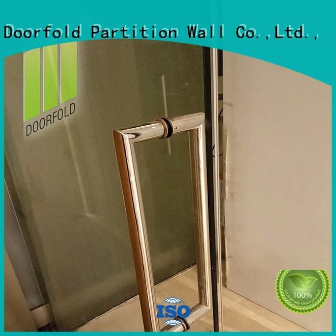glass partition walls for office panels Doorfold movable partition Brand glass partition wall
