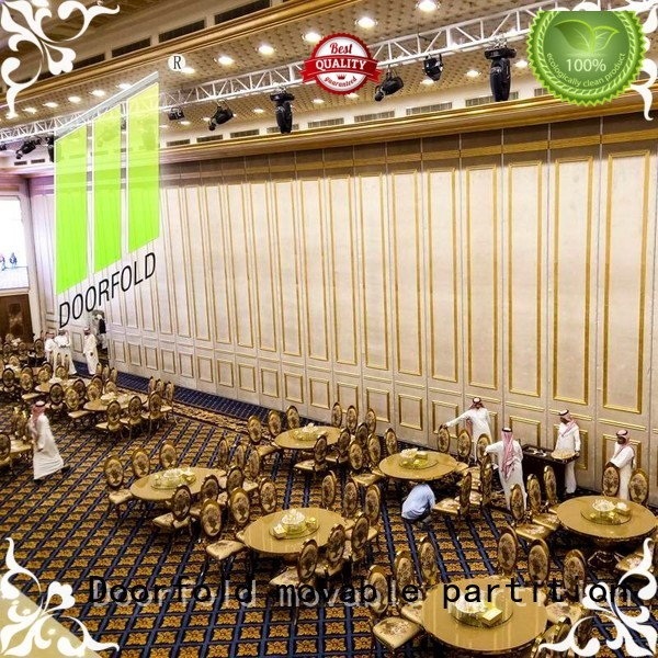 Doorfold movable partition Brand exhibition top selling theater movable partition wall singapore seafood