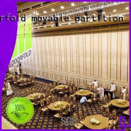OEM acoustic movable partitions saudi folding acoustic partition
