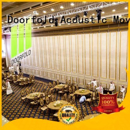 Hot acoustic partition wall acoustic movable partitions partitions Doorfold movable partition