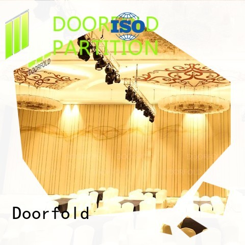 retractable Hotel ballroom Movable Walls easy-installation restaurant