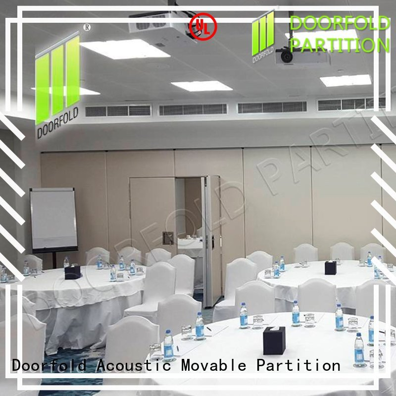 Doorfold soundproof partition wall custom for conference room