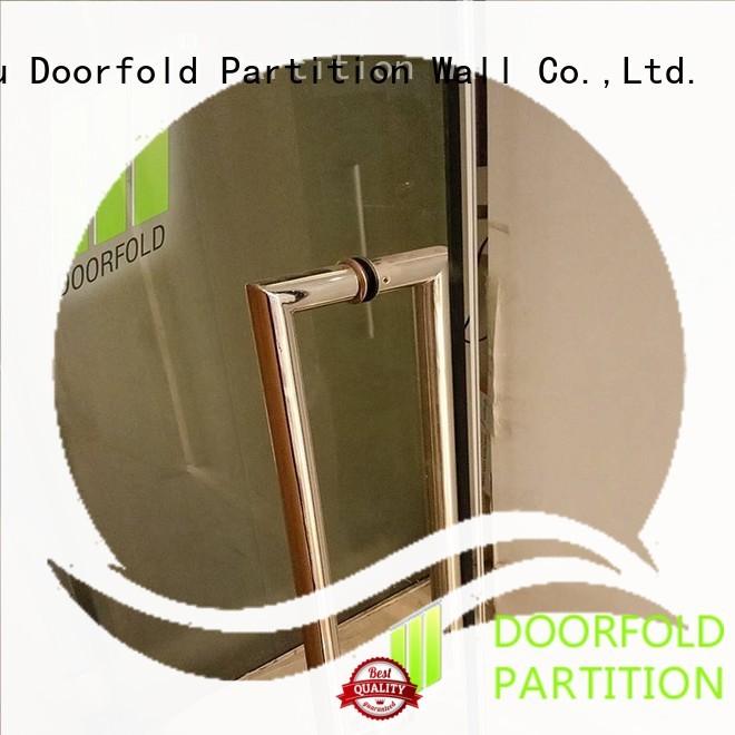 Doorfold portable partition custom