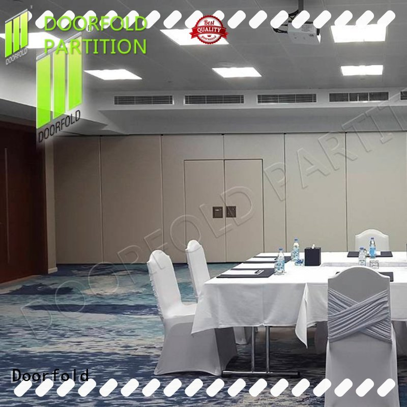acoustic sliding folding partition new arrival for office