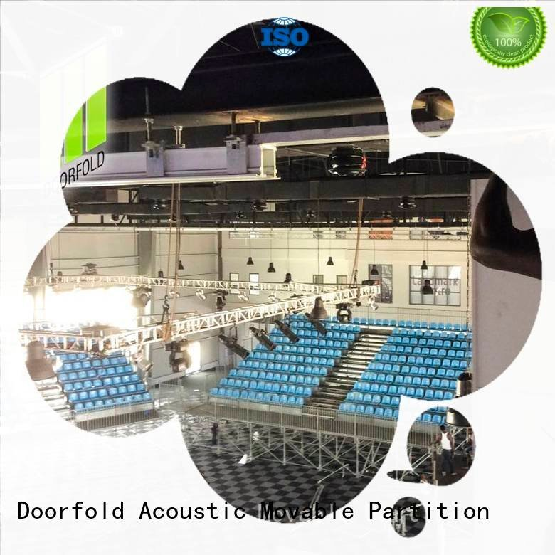 Hot folding partition walls commercial folding Doorfold movable partition Brand