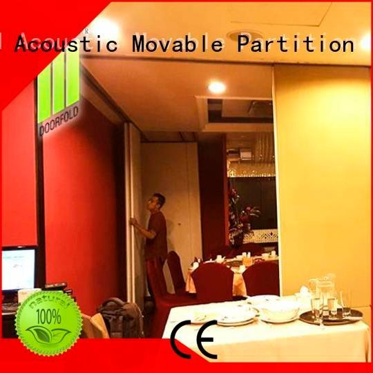 commercial partition walls folding divider restaurant Doorfold movable partition
