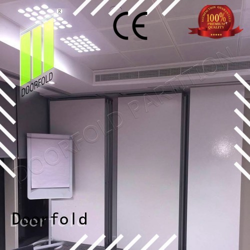 Doorfold sliding sliding partition for conference