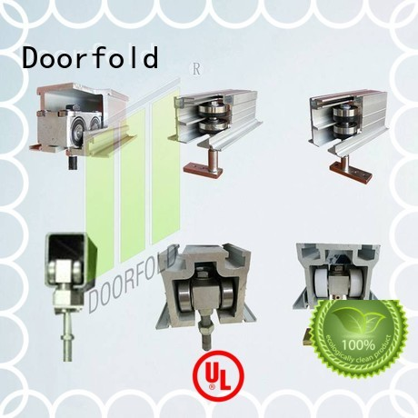 Doorfold partition glass partition hardware top brand for museum