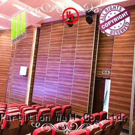 Doorfold movable walls fast installation for movie