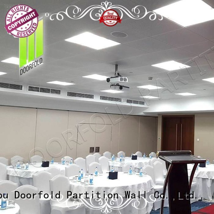 Doorfold movable partition Brand partitions divider museum popular folding partition walls commercial