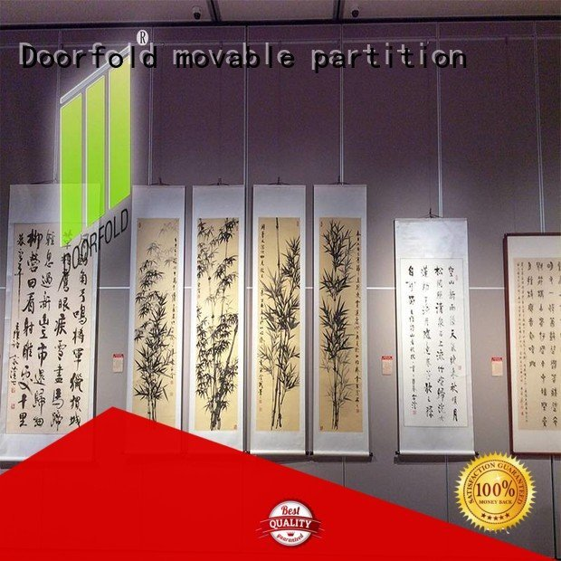 OEM movable walls display room sliding folding partitions movable walls