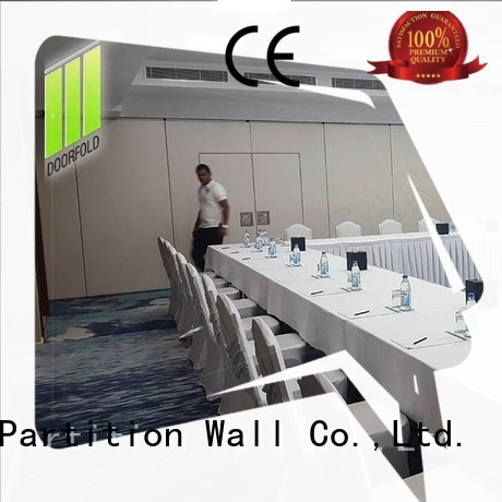 Doorfold flexible office partitioning costs modern design for office