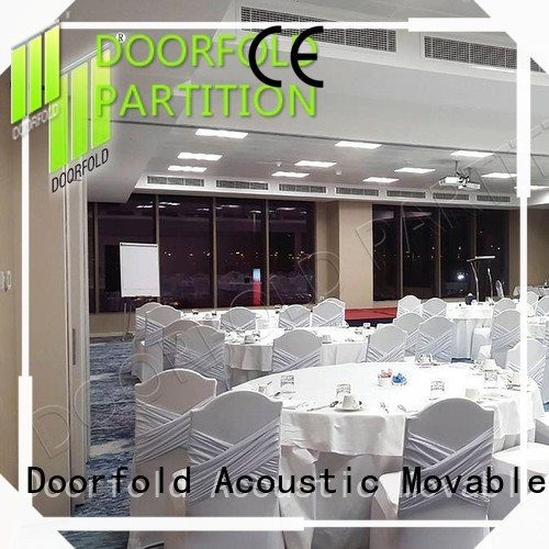 Doorfold conference sliding room partitions partition for conference room