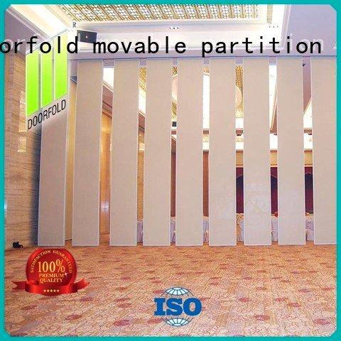 flexible acoustic Doorfold movable partition sliding folding partition