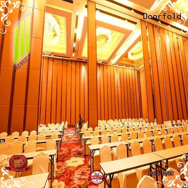 Doorfold easy installation hall partition customization for exhibition