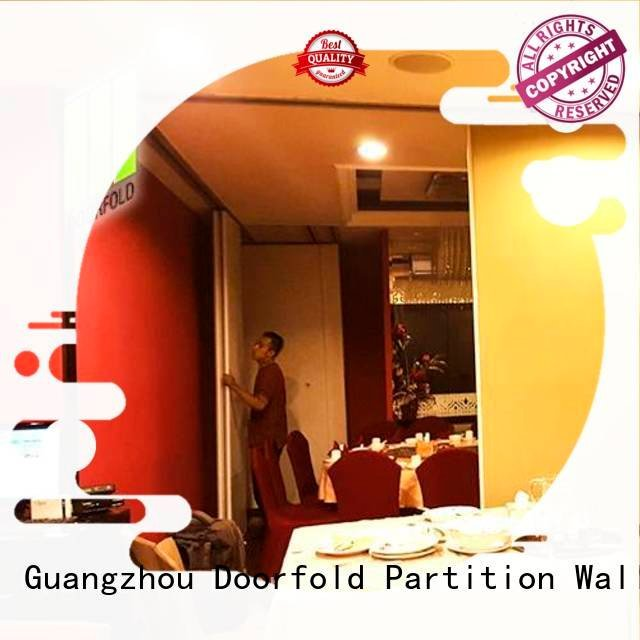 wall restaurant divider acoustic Doorfold movable partition commercial room dividers