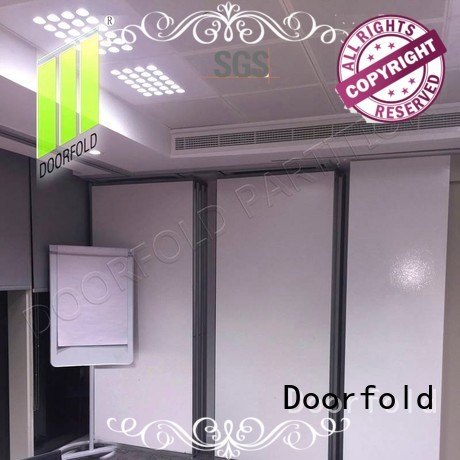 sliding sliding partition wall for conference