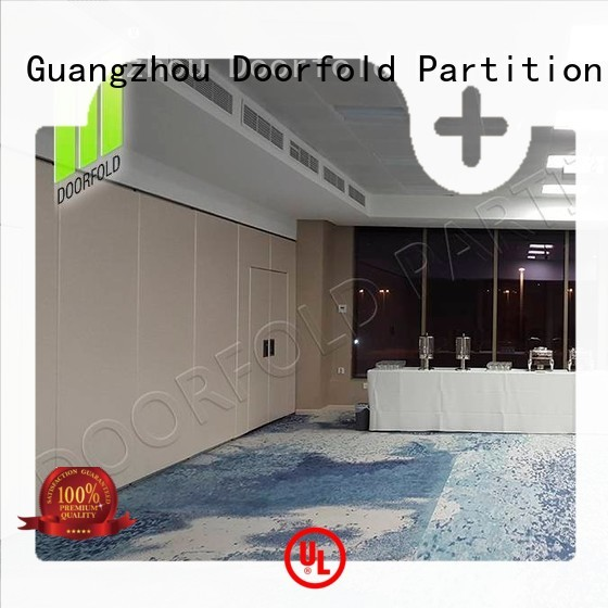 Doorfold movable sliding room partitions sartition for meeting room