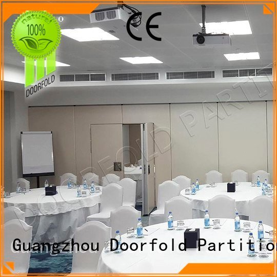 Doorfold movable partition Brand acoustic retractable soundproof folding walls collapsible wall