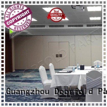 Wholesale display sliding folding partition Doorfold movable partition Brand