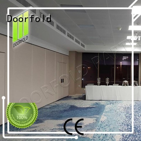 Doorfold international sliding folding partition sartition for restaurant