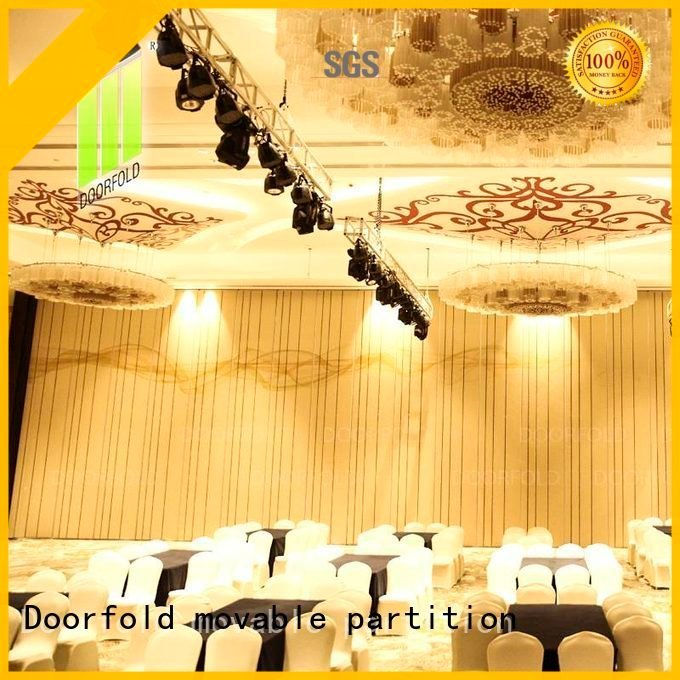 Wholesale partition wall acoustic movable partitions Doorfold movable partition Brand