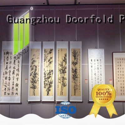 Doorfold operable movable glass wall systems free delivery for museum