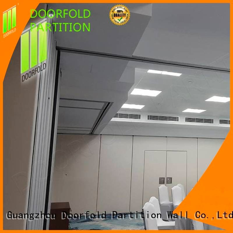 Doorfold movable partition soundproof folding walls retractable partition sound
