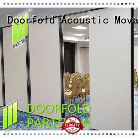 Doorfold cheap operable wall systems folding for conference