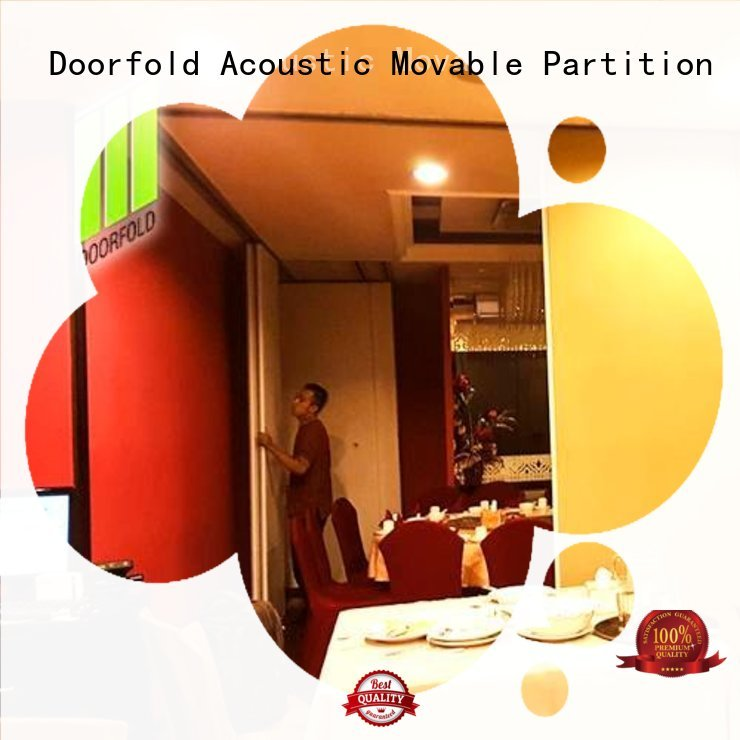 Doorfold movable partition Brand conference commercial partition walls saudi supplier