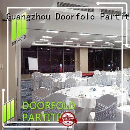 Doorfold sliding room partitions latest design for conference room