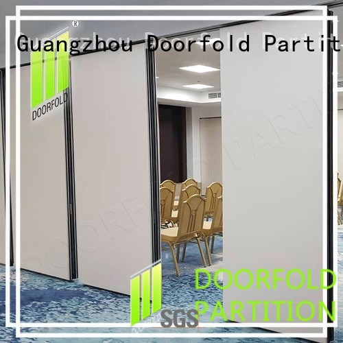 Wholesale golden operable walls price Doorfold movable partition Brand