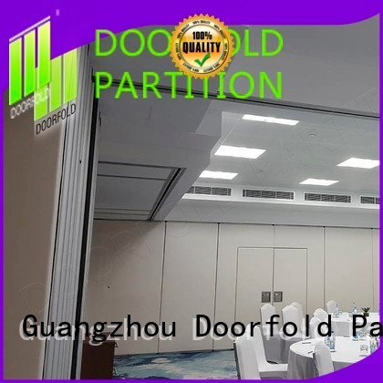acoustic room collapsible soundproof office partitions Doorfold movable partition
