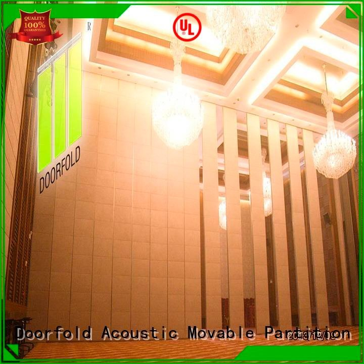 Doorfold movable partition Brand commercial sliding sliding glass partition walls partition flexible