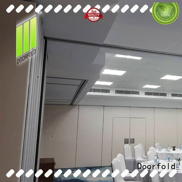 foldable soundproof partition wall room for meeting room Doorfold